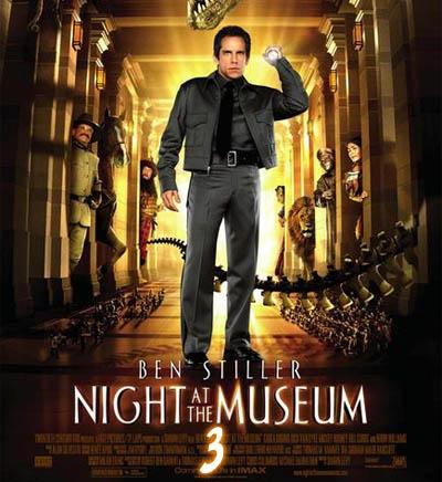 Ночь в музее 3 дата выхода