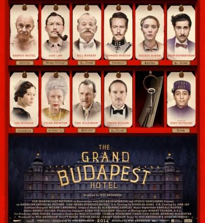 Отель «Гранд Будапешт» дата выхода